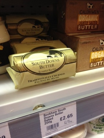 Bookham South Downs Organic Grass Fed Butter