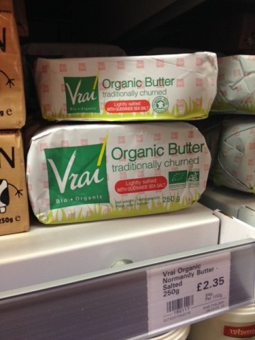 Vrai Organic Grass Fed Butter