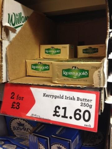 Kerry Gold Organic Grass Fed Butter